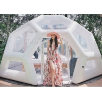 Buy cheap Waterproof 0.8mm Inflatable Bubble Tent For Camping Hotel product
