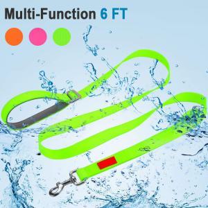 Buy cheap Soft Handle Waterproof Dog Leash , Nylon Hands Free Dog Leash High Flexibility product