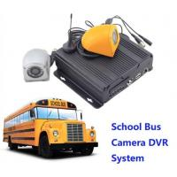 Buy cheap CCTV Realtime 4 Camera Car DVR Recording / Mobile Bus Car Vehicle DVR Security System product