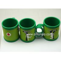 Buy cheap Custom cheap and cute cartoon pvc silicone wrap plastic promotional mugs product
