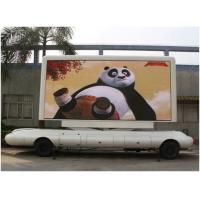 Buy cheap Aluminum / Iron Led billboard truck advertising High brightness outdoor advertising billboards product