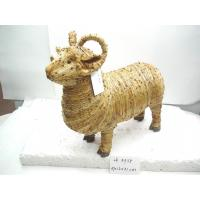 China 2018 new Handmade sheep,artificial crafts,holiday gifts and decoration ornaments,nature material made on sale