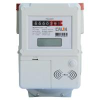 Buy cheap Compliant Contactless IC Card Prepaid Gas Meter With Lcd Display , Lightweight product