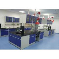 Buy cheap 16mm/19mm Epoxy Resin Worktop Wooden Laboratory Furniture With Storage Cabinet product