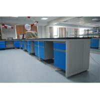 Buy cheap OEM Steel Wood Lab Bench , Medical Lab Furniture Used Medical Cabinets product