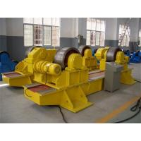 100 T Automatic Conventional Tank Turning Rolls  With Siemens System Control Cabinet