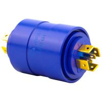 Buy cheap 6 Circuits LPR Series Slip Ring Environment-Friendly Brushless Slip Ring 15a Silver Plated Pin Connecting from wholesalers