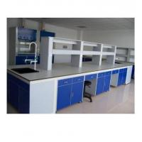 Buy cheap Steel Structure Medical Lab Table With Cabinet Storage Epoxy Resin Powder Coated product