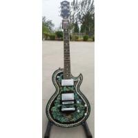 Quality New Brand ELECTRIC GUITAR WITH ABALONE TOP for sale