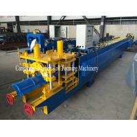 Buy cheap Full Automatic Steel Roof Ridge Cap Roll Forming Machine Cr12 For PPGI product