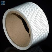 "Buy cheap Semi Trailer Wide Transparent Reflective Tape High Intensity Glass Bead 2"" x 30' Roll product"