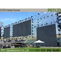 Buy cheap Ultra Light Elegant Backdrop LED Stage Curtain Screen P8.928 Support Videos Images product