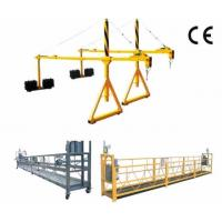 Buy cheap Aluminium Alloy Suspended Access Platform For Building Cleaning product