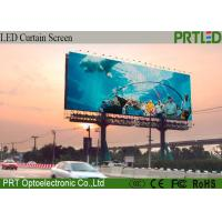 Buy cheap Outdoor Advertising LED Display Screen Curtain Billboard P10 Full Color product
