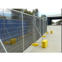 Buy cheap Galvanized Steel Metal Temporary Mesh Fence UV Protected Fashion Design product