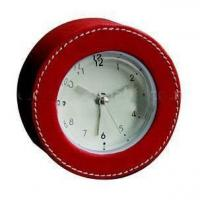 Buy cheap Leather Clock product