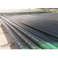 Buy cheap ISO API 5L Seamless Carbon Steel Pipe With Black Paint Surface Treatment product