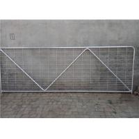 China N Stay Farm Gate Fence 33.4 X 1.5mm Size For Heavy Rural Applications on sale