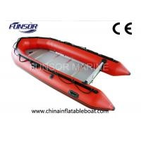 Buy cheap Aluminum Floor Inflatable Dinghy Boat Light Weight For Yachts Or Sailboats from wholesalers