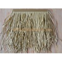 Buy cheap High quality good flexibility synthetic thatch manufacturer product