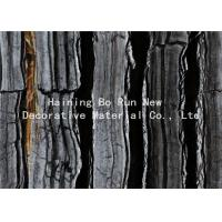 Buy cheap Dark Colored Indoor PVC Ceiling Film Marble Effect Heat Insulation product
