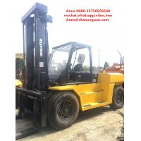 Buy cheap Japan second hand Komatsu 15ton forklift , FD150E-7 15t capacity forklift for sale product