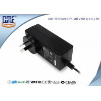 Buy cheap Black 2 Prong 36W Switching Power Adaptor With 1.5m Cable , 84.78% Efficiency product
