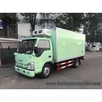 Buy cheap ISUZU 15ft 1-4 Ton 6 Wheel Refrigerated Delivery Truck For Meat And Fish from wholesalers