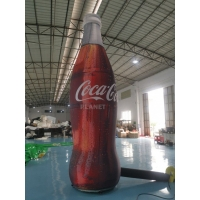 Buy cheap ASTM 4m Tall Advertising Inflatable Coca Cola Bottle product