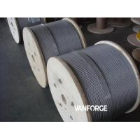 Buy cheap 6x36 FC IWRC Construction Wire Rope Stainless Steel 316 , Marine Wire Rope product