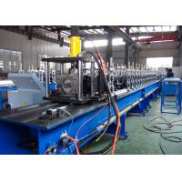 Buy cheap Non - Stop Cutting Pallet Rack Roll Forming Machine 1.5 - 2.5mm Thickness Material Usage product