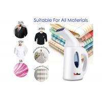 Buy cheap 110 - 240V Voltage Travel Garment Steamer Handheld Fabric Steamer Fast Heat Up from wholesalers
