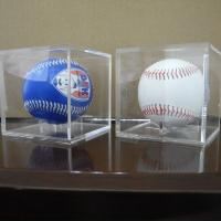 Buy cheap Acrylic Clear Baseball  Display Case Single Plexiglass Cube Holder Box for Small Ball from wholesalers