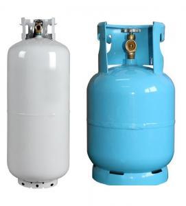 China steel material 15 Kg Cryogenic Gas Cylinder Bulk LPG Storage Tank on sale