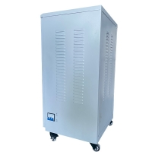 Buy cheap SGZ-30KVA Laser Three Phase High-precision Servo Motor Type Metallic AC Voltage Stabilizer product