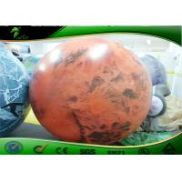 Buy cheap Large Inflatable Advertising Balloons , Inflatable Planet Balloon For Advertising product