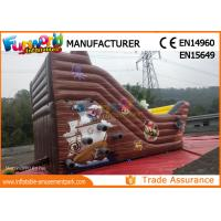 Buy cheap 2018 Customized Printing Inflatable Bouncy With Slide Inflatable Pirate Bouncer from wholesalers