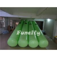 Buy cheap 7M Length 0.5m diameter Green Color  Airtight  Floating Water Buoys for Aqua park  Enclosure product