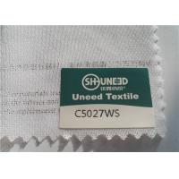 Buy cheap Circular Knit Stretch Interlining Material C5027WS With Double Dot PES Coating product