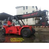Buy cheap Diesel Engine Used Reachstacker Ferrari Container Reach Stacker 477 product