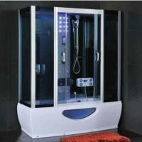 Buy cheap Modern Rectangular Shower Enclosure With Sliding Door Steam Room And Shower Combo from wholesalers