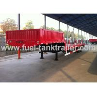 Buy cheap 2 Axle Low Bed Heavy Duty Trailer Mechanical Ramp Strong Carrying Capacity product