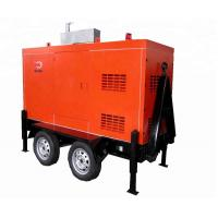 Buy cheap Silent Mobile Diesel Generator 1500/ 1800rpm Speed Brushless Excitation Smartgen from wholesalers