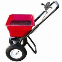 Buy cheap 80lbs Walk-behind Spreader, Used for Seed, Salt and Fertilizer, Adjusted Outlet product