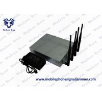 Buy cheap Efficient Wifi Blocker Jammer , Cell Phone Wifi Jammer 2.4G 5.8G Block Frequency from wholesalers