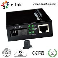 Buy cheap Mc101xl / Mc102xl Fiber Ethernet Media Converter Single Mode 20km Distance , SC BIDI product