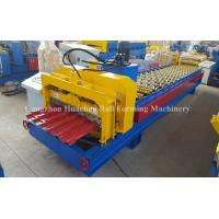 Buy cheap Roofing Glazed Tile Roll Forming Machine Light Weight High Strengt product