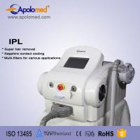 Buy cheap 15 x 50mm Acne Treatment Portable Hair Removal Machine Apolomed / Permanent from wholesalers