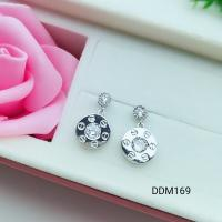 Buy cheap Silver Earring Manufacturer of Turquoise And mother of Pearl Gemstone Clover Design Earring Jewelry Supplier from wholesalers