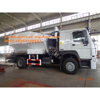 Buy cheap Sinotruk HOWO7 8T Site Mixed Granular ANFO Explosive Truck BCLH / BCRH / BCZH Blue product
